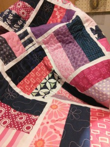 More of the quilting